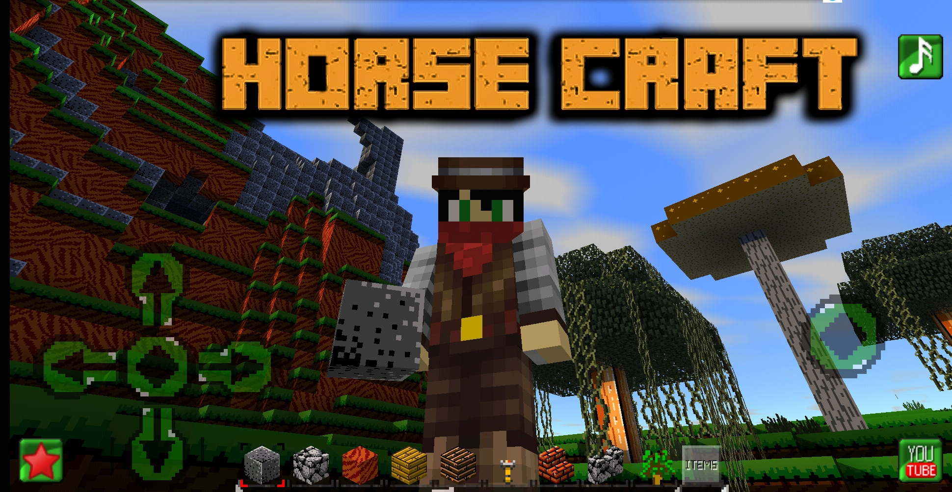 Download HORSECRAFT : Survival and Crafting Game APK - For Android/iOS 11