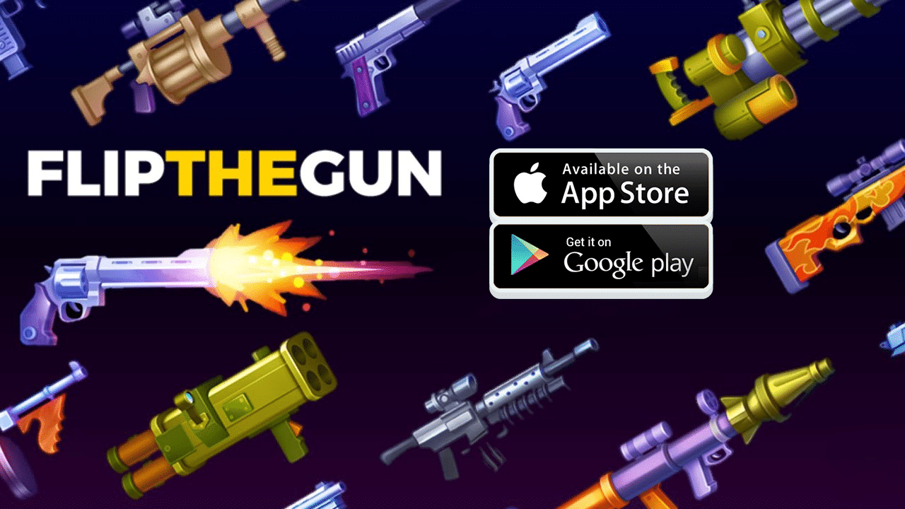 Download Flip The Gun - Simulator Game MOD APK for Android/iOS 13
