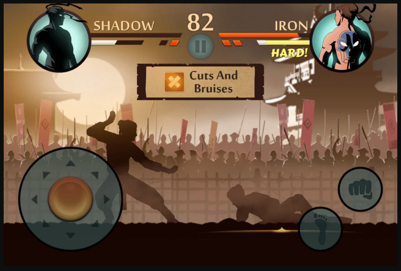 shadow fight 2 game play