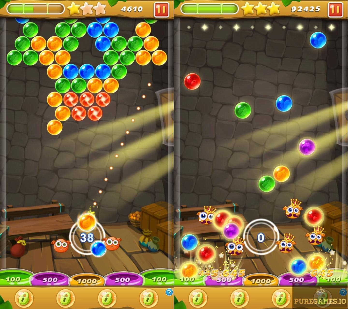 Download Bubble Shooter MOD APK for Android/iOS - PureGames