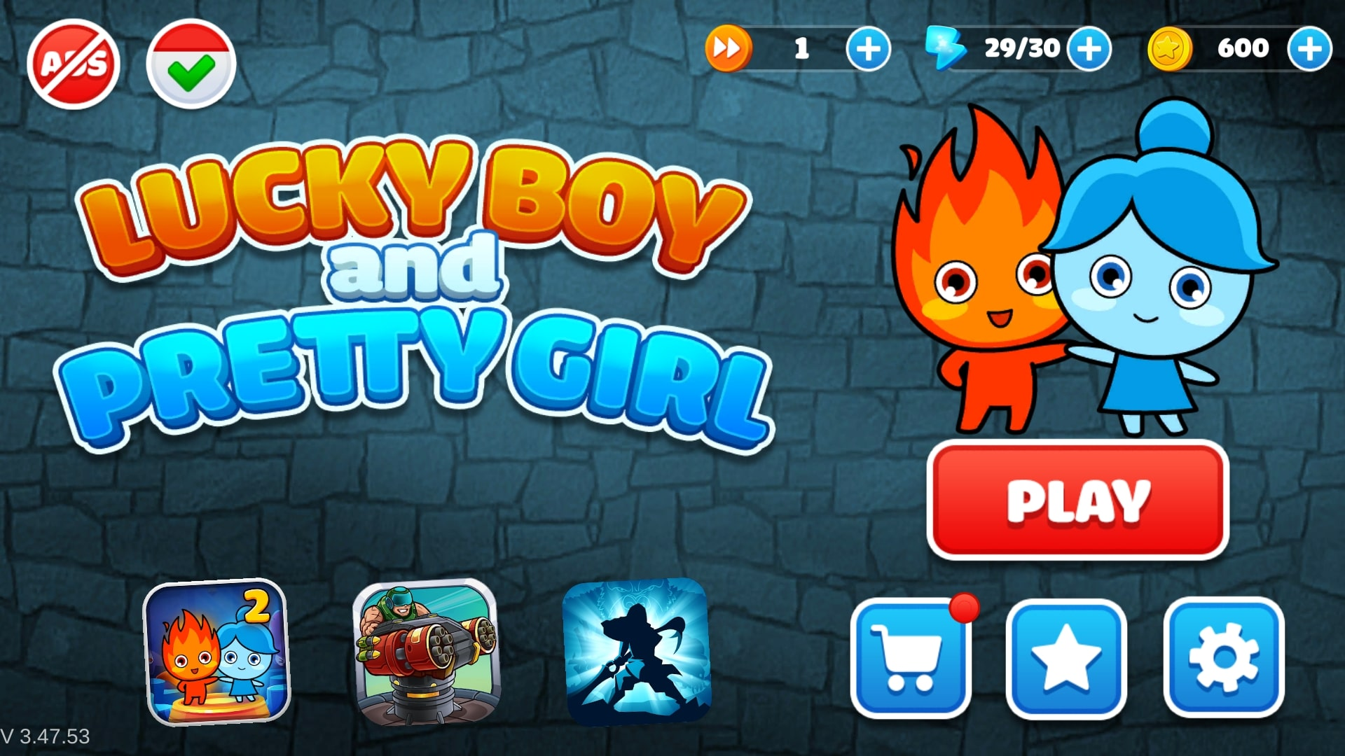 Download LuckyBoy and PrettyGirl - Crystal Temple Maze APK - For Android 3