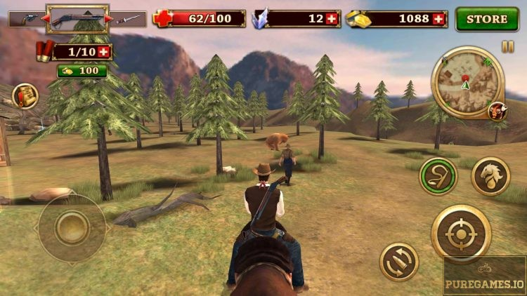 download west gunfighter mod apk