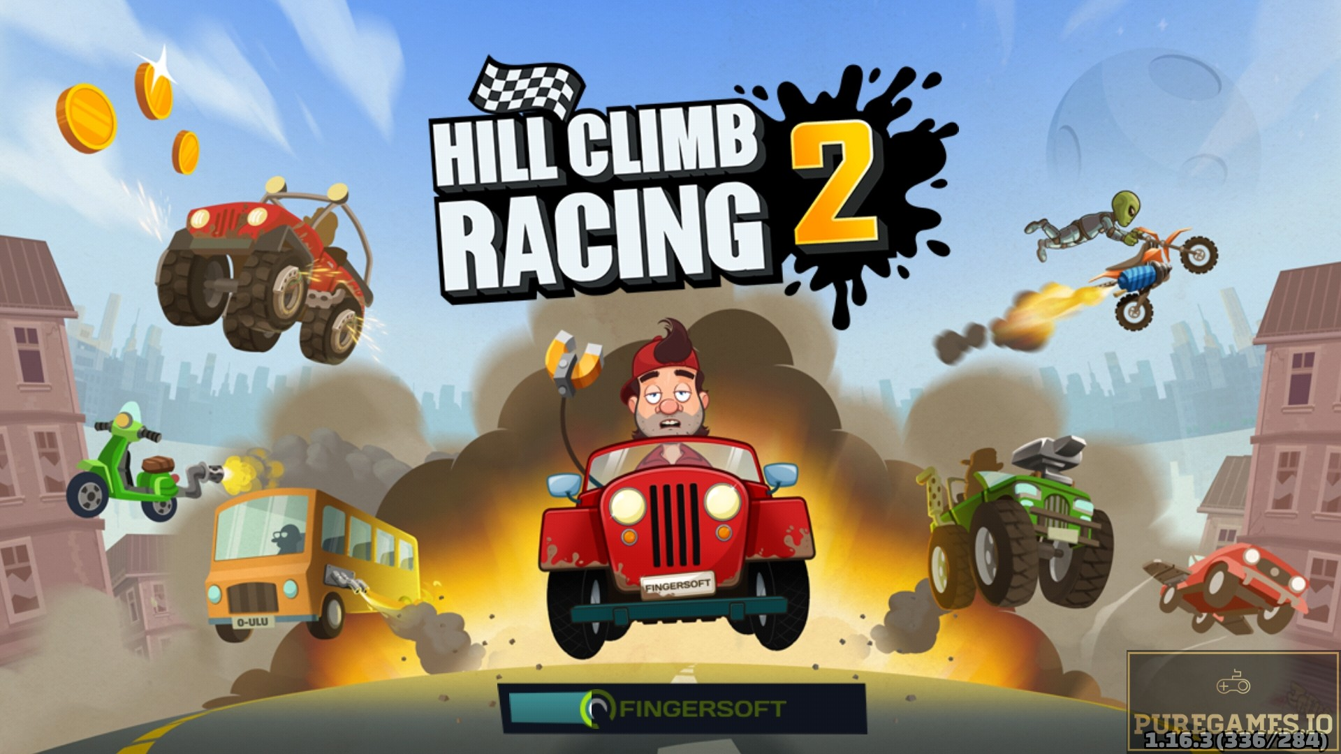 Download Hill Climb Racing 2 APK - For Android and iOS 4