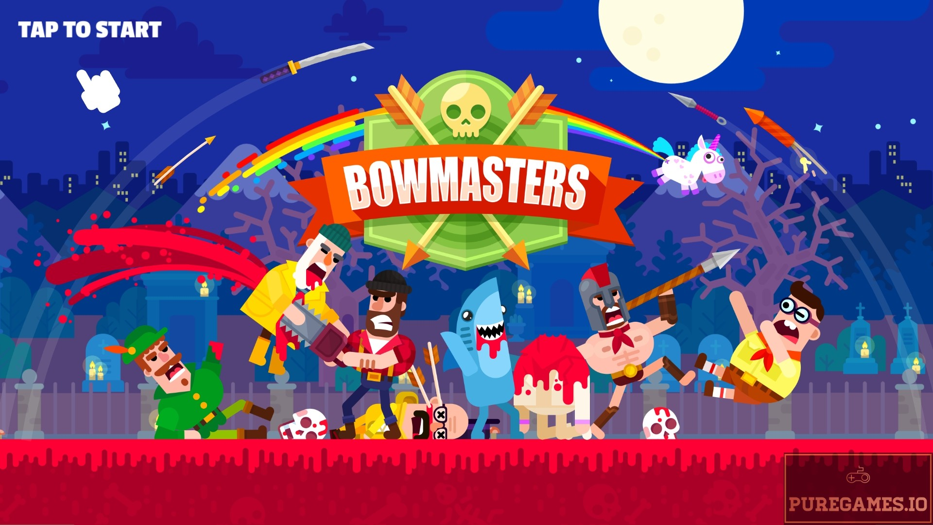 Download Bowmasters APK - For Android/iOS 11