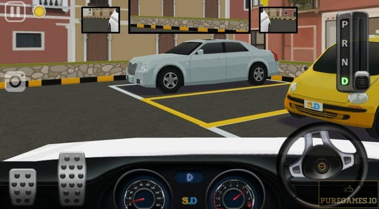 dr parking 4 in first person perspective