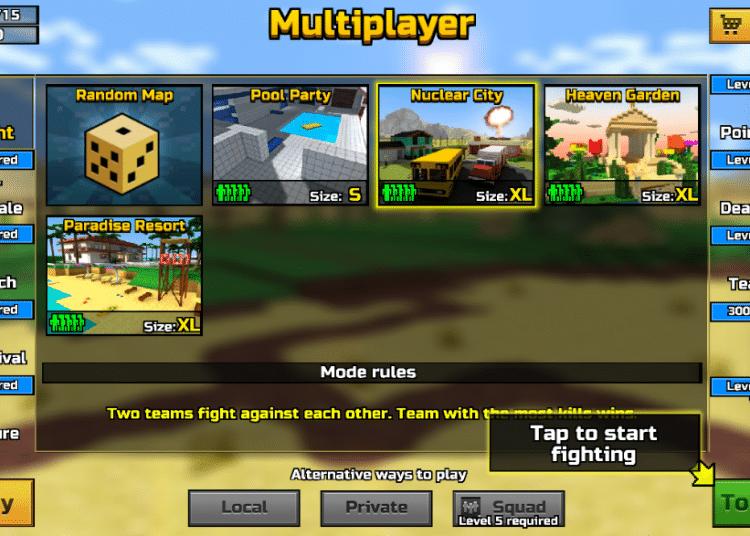 download pixel gun 3d apk
