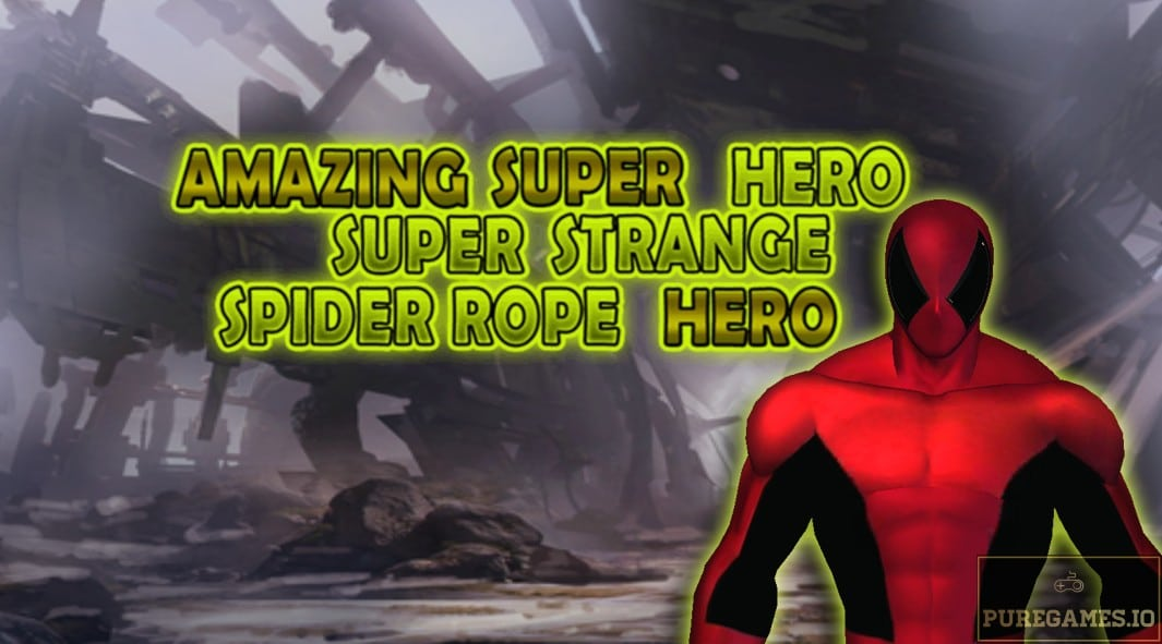 Download Amazing Super Hero: Super Strange Spider Rope Super Hero MOD APK - For Android/iOS 15