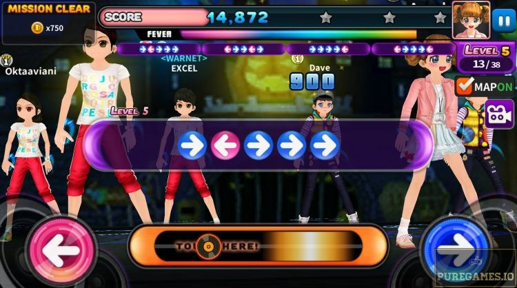Download AyoDance Mobile MOD APK - For Android/iOS - PureGames