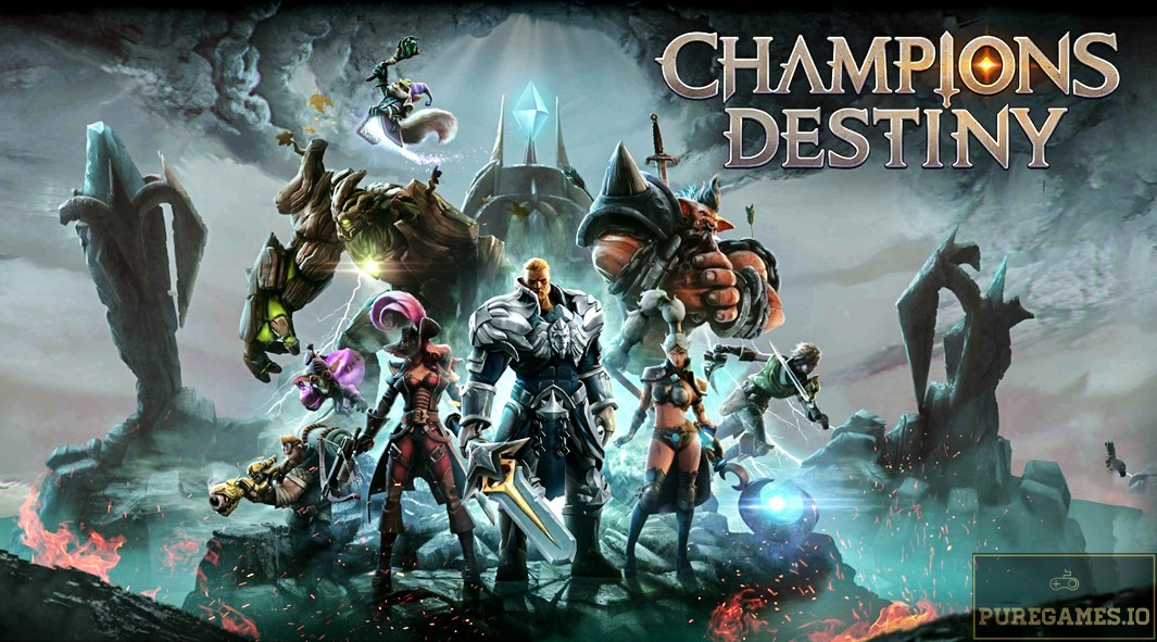 Download Champions Destiny: MOBA Heroes MOD APK - For Android/iOS 12