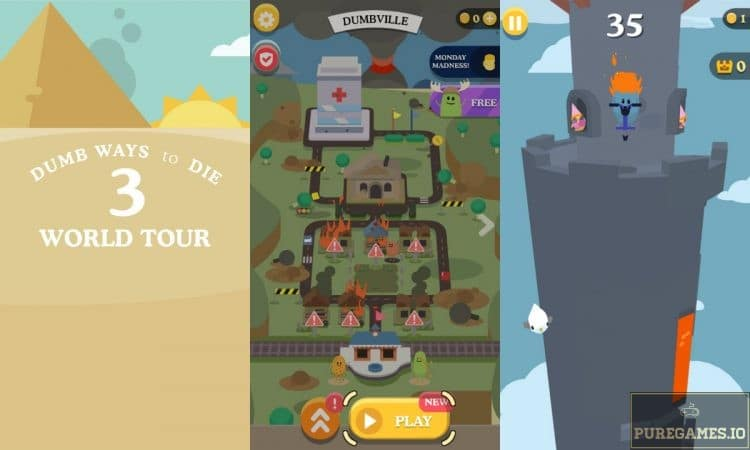 Download Dumb Ways To Die 3 : World Tour MOD APK - For Android/iOS