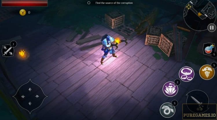 Download Dungeon Hunter: Curse of Heaven MOD APK - For