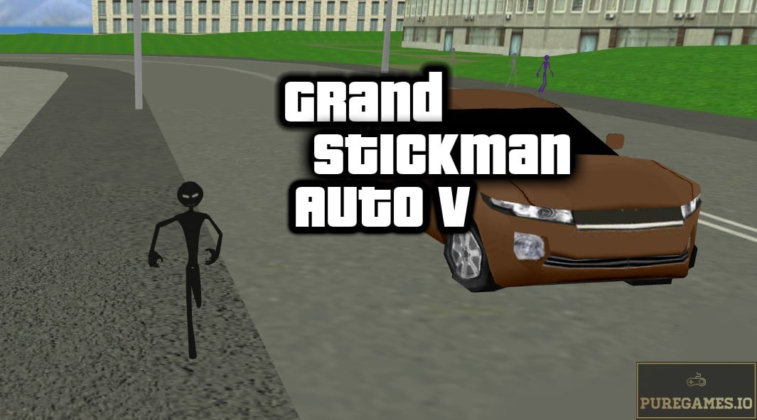 Download Grand Stickman Auto V MOD APK - For Android/iOS 11