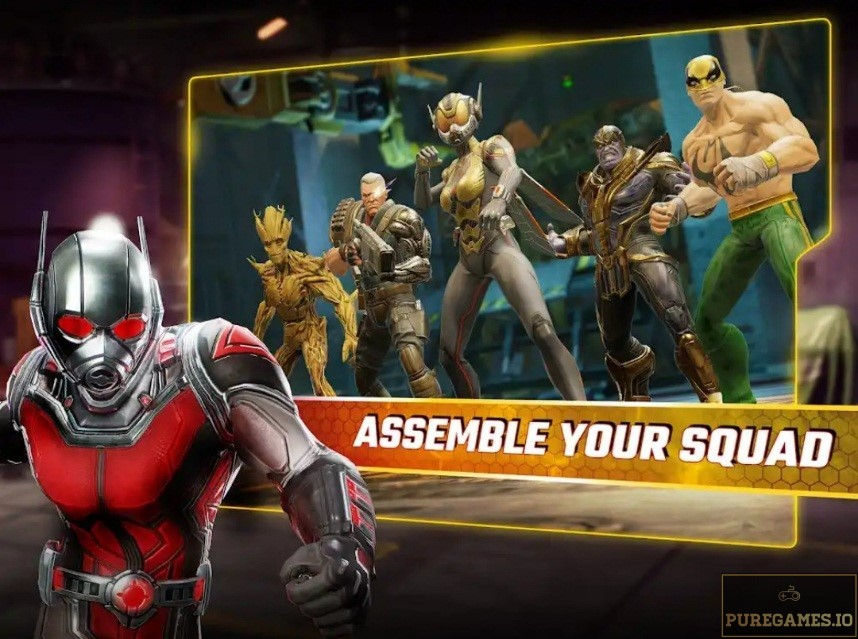 Download MARVEL Strike Force MOD APK for Android/iOS 9