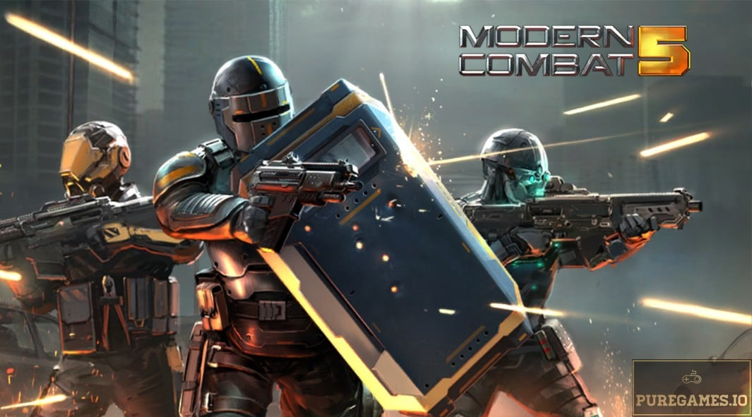 Download Modern Combat 5 MOD APK - For Android/iOS 9