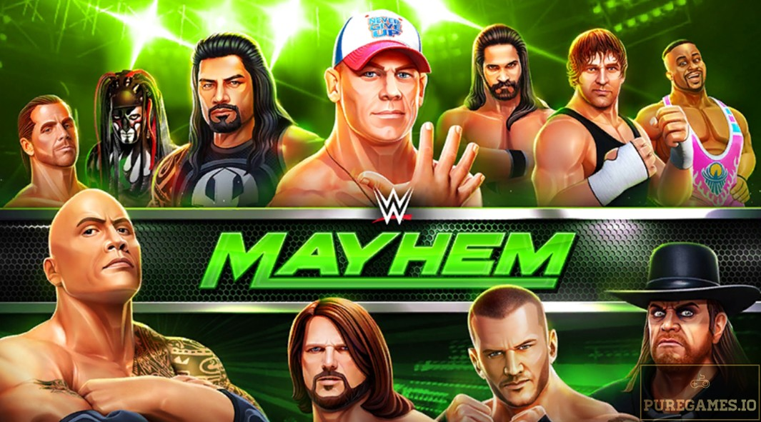 Download WWE Mayhem MOD APK - For Android/iOS 9