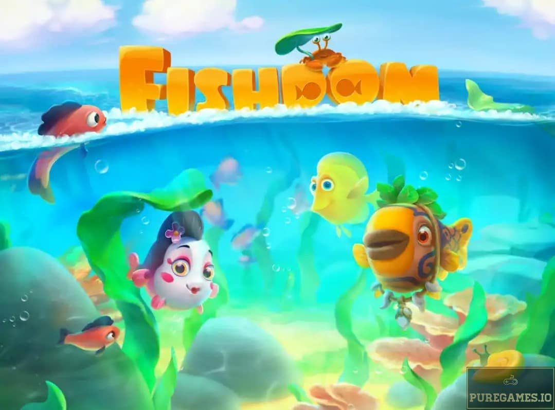 Download Fishdom MOD APK for Android/iOS 3