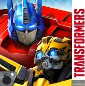 Logo for Transformers: Forged to Fight
