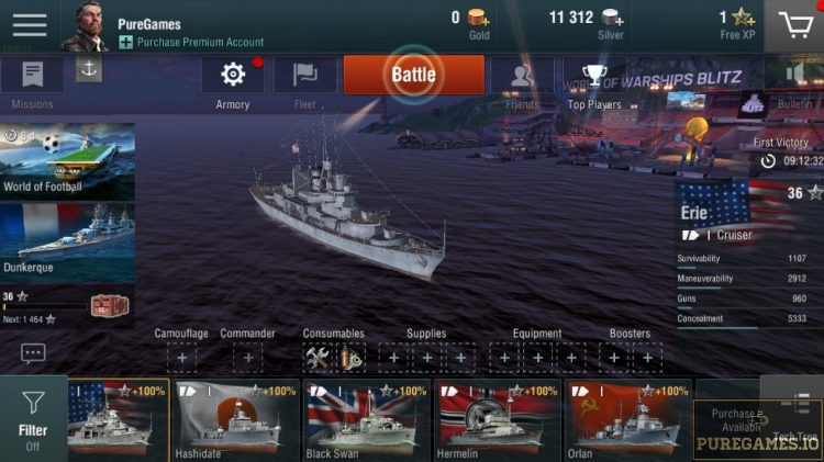 Download World of Warships Blitz MOD APK - For Android/iOS