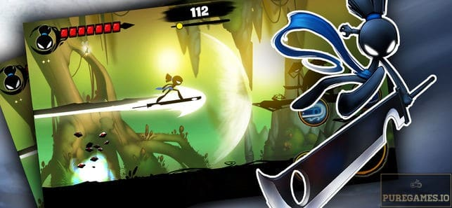 download game stickman revenge 3 league of heroes mod apk
