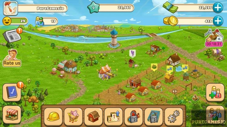 Download Big Farm: Mobile Harvest MOD APK - For Android/iOS