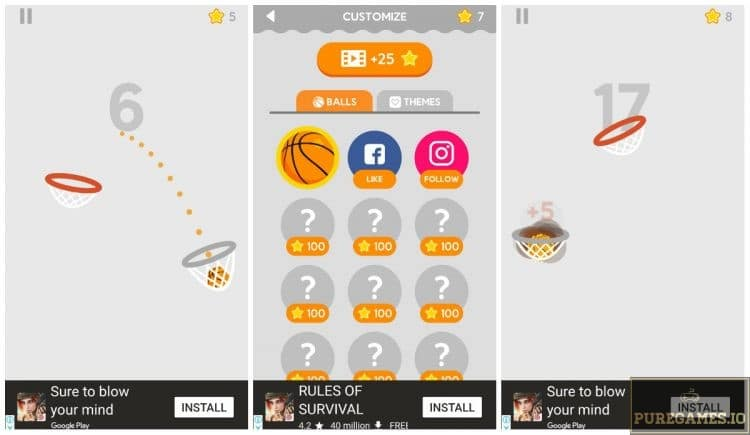 Download Dunk Shot MOD APK - For Android/iOS - PureGames