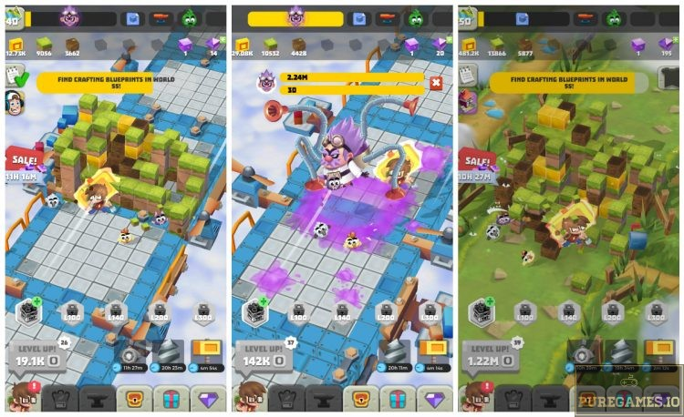 Download Idle Crafting Empire MOD APK - For Android/iOS