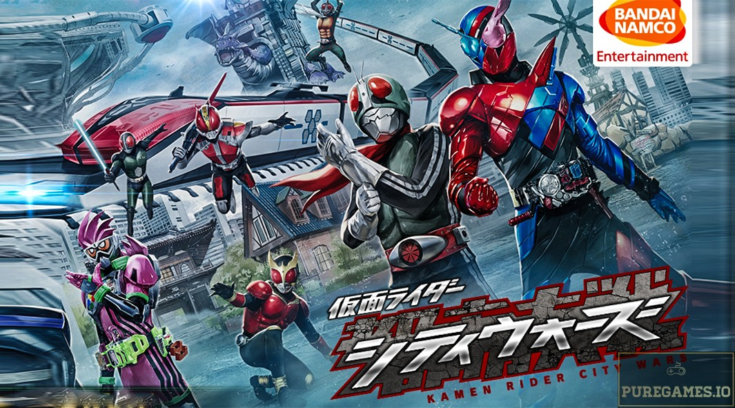 Download Kamen Rider City Wars (仮面ライダー シティウォーズ) MOD APK - For Android/iOS 5