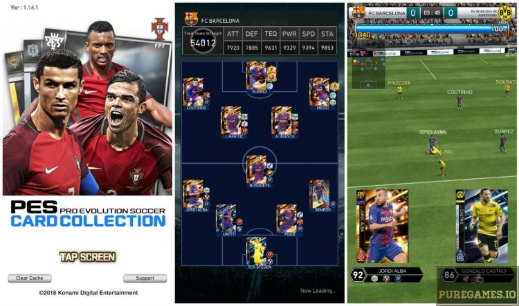 Download PES Card Collection MOD APK - For Android/iOS