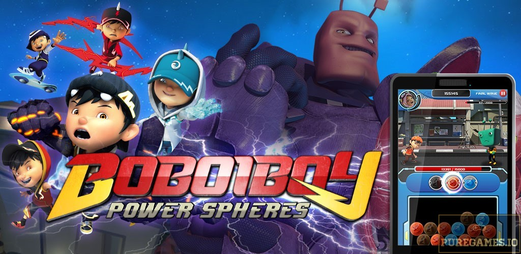 Download Power Spheres by BoBoiBoy APK for Android/iOS 9