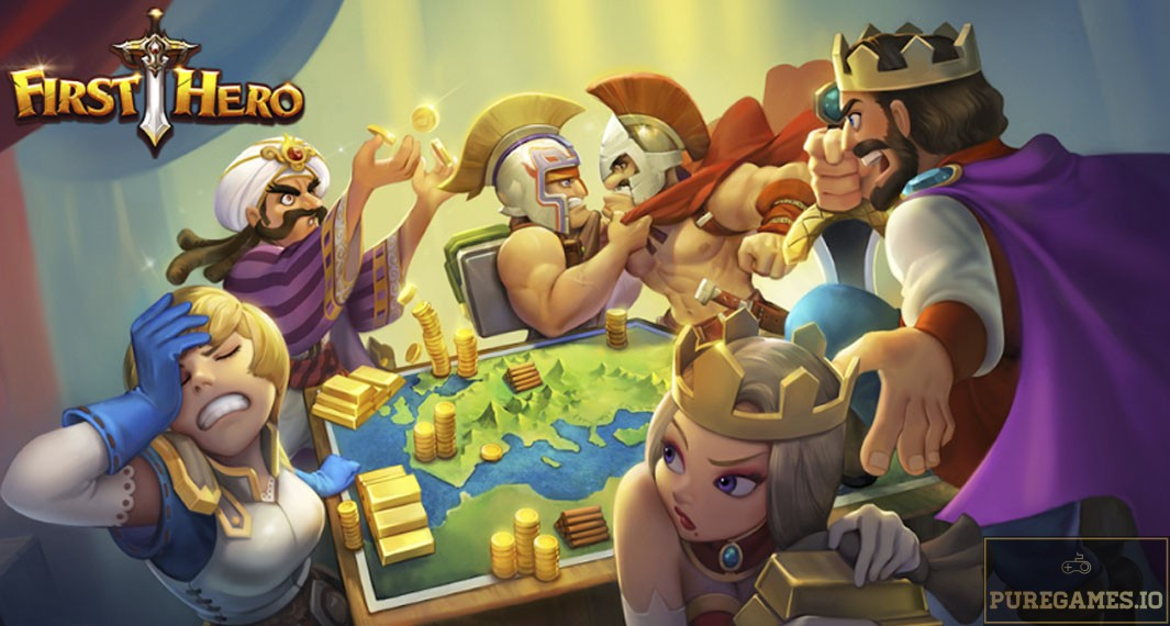Download FIRST HERO MOD APK - For Android/iOS 13