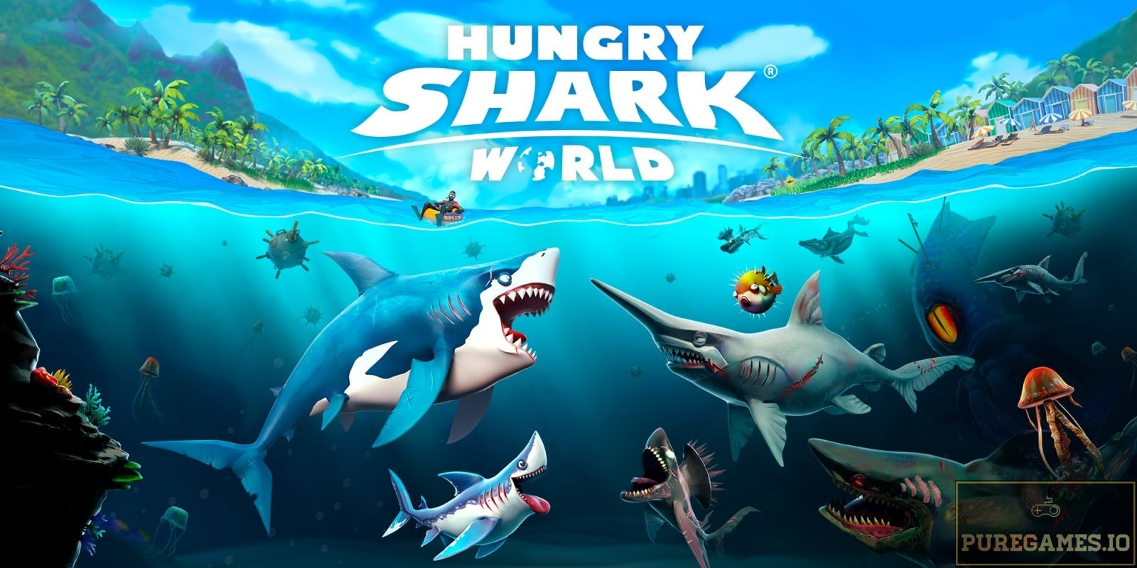 Download Hungry Shark World – For Android/iOS 9