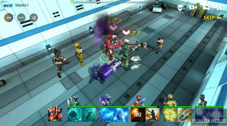 Download Power Rangers : All Stars MOD APK - For Android/iOS