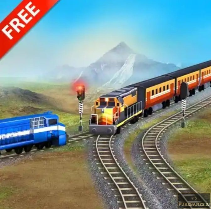 Download Train Racing Games 3D 2 player mod apk for Android 11