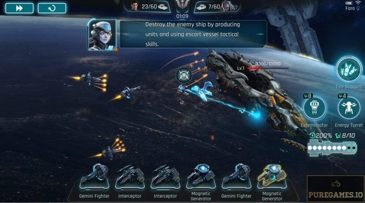 Download Galactic Frontline APK - For Android/iOS - PureGames