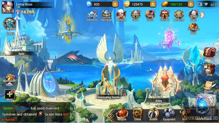 download League of Angels - Paradise Land