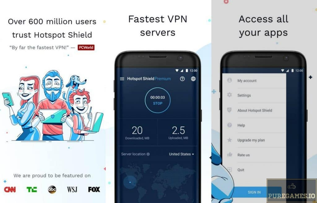 hotspot shield elite ios download