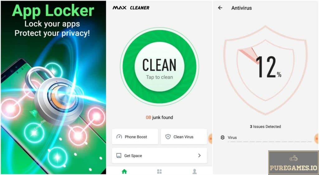Download MAX Cleaner APK - For Android/iOS - PureGames