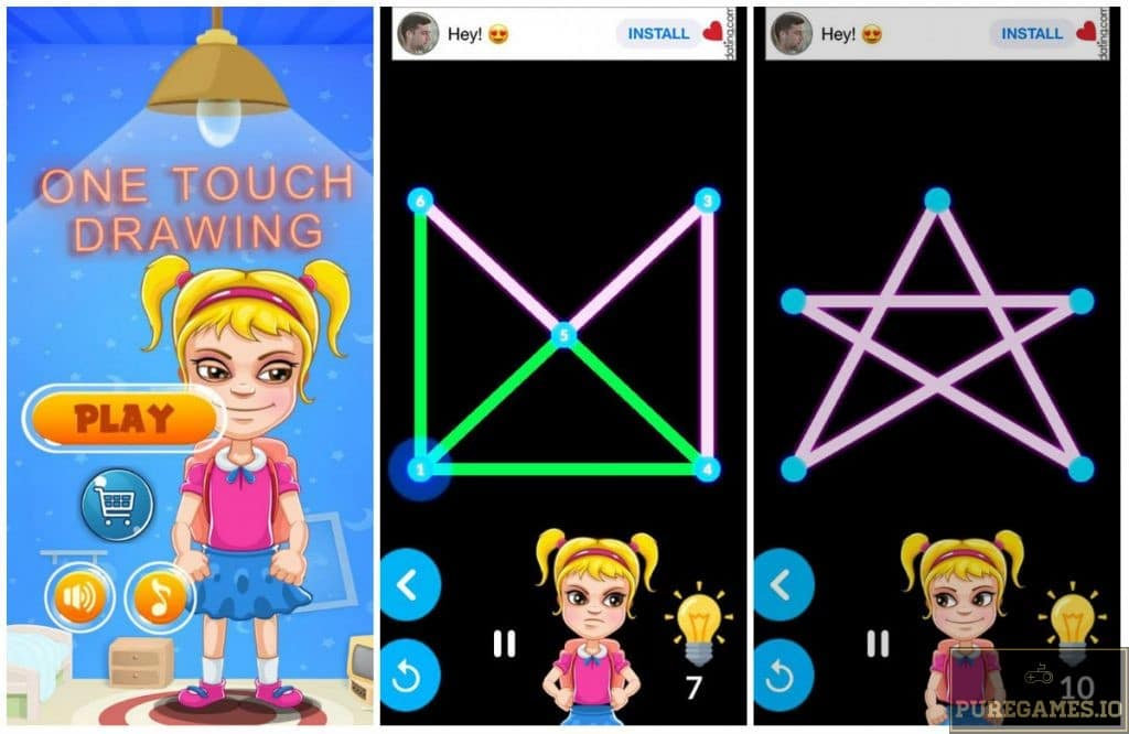 Download One Touch Drawing Glow 2 APK - iOS - PureGames