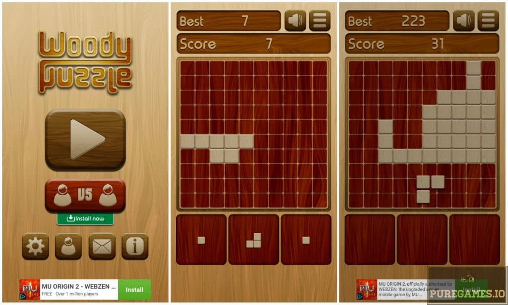 Download Woody Puzzle APK - For Android/iOS - PureGames