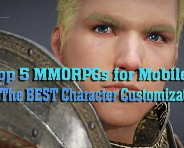 Top 5 MMORPGs for Mobile With The BEST Character Customization 1